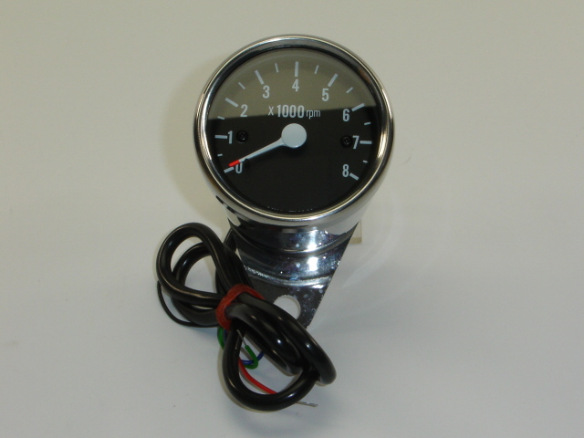 Afbeelding van Toerenteller 8.000 rpm 12V elektro